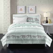 loft style boho elephant comforter set walmart com