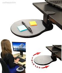 Desk Cubby Organizer by Under The Desk Shelf Mouse Pad Attachable Table Computer Phone