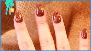 thanksgiving gel nails how to thanksgiving inspired nail art nail pop ep 17 youtube