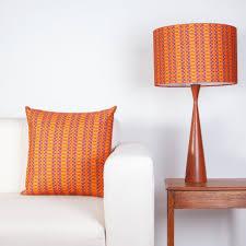 drum table l shades sturdy burnt orange l shade table shades ideas