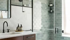 glass tiles bathroom ideas blue bathroom tiles on blue mosaic tile bathroom trendy with