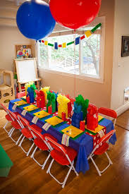 Legos Table 32 Bold Lego Kids U0027 Party Ideas That Rock Shelterness