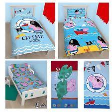 Peppa Pig Single Duvet Set George Pig Bedroom Ebay