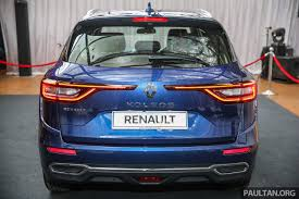 renault koleos 2016 2016 renault koleos rear indian autos blog