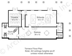 Basement Floor Plans Hartwell Empty Nester House Plans Luxury House Plans