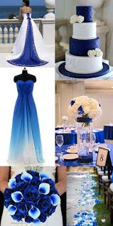 blue wedding charming sweetheart floor length ombre chiffon sleeveless
