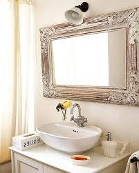Large Bathroom Vanity Mirror by Ornate Wall Mirror Tags Large Framed Bathroom Mirror Gold