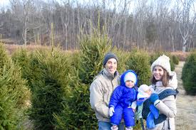 first family visit to a christmas tree farm hope from ash