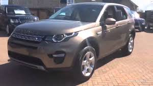 range rover rose gold land rover discovery sport td4 hse brown 2016 youtube