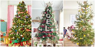 Mini Christmas Tree With Decorating Kit by 60 Best Christmas Tree Decorating Ideas How To Decorate A