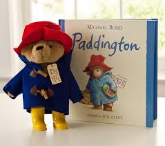 paddington nursery paddington book plush set pottery barn kids