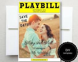 playbill wedding program playbill broadway template for rehearsal dinner program