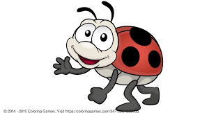 cute ladybug coloring games and coloring pages