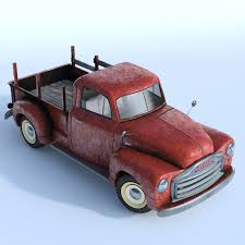 rusty pickup truck old rusty pickup truck model
