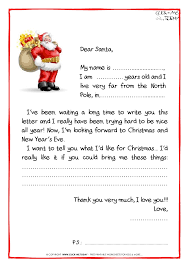 letter to santa template printable black and white letter to santa claus black white free template ps santa