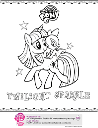 my little pony friendship is magic coloring pages twilight sparkle