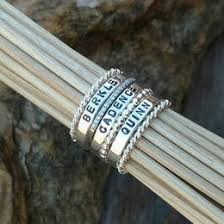 personalized stackable rings stackable rings collection gift ideas