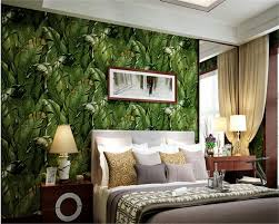 Simple Green Living Room Designs Compare Prices On Natural Leaf Wallpaper Online Shopping Buy Low