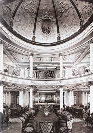 ocean superliners the lusitania u0027s first class dining room