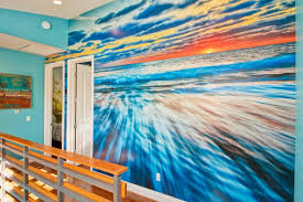 mural backyard murals amazing surf mural beach resort mural by