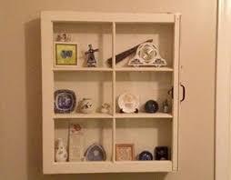 rustic medicine cabinet 6 pane window cabinet shabby wall