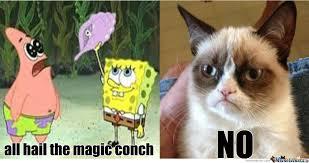 Hail Meme - all hail the magic conch by dabeef meme center