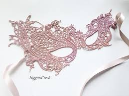 pink masquerade masks blush pink lace masquerade mask for women studded with