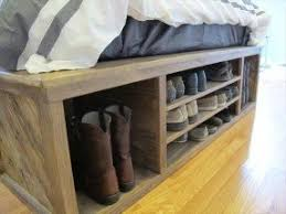 Shoerack Bench Storage Bench With Shoe Rack Foter