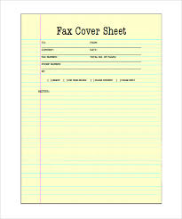 Free Printable Fax Cover Sheet Template Printable Fax Cover Sheet 10 Free Word Pdf Documents