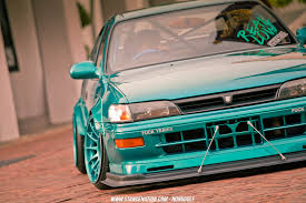 stance toyota sticky ride nukung u0027s unique toyota corolla stancenation