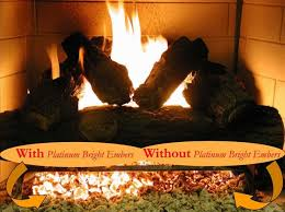 Artificial Logs For Fireplace by Bright Glowing Embers For Vented Gas Log Sets