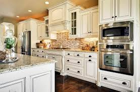 white wood kitchen cabinets kitchen best white kitchen cabinet with mosaic backsplash design