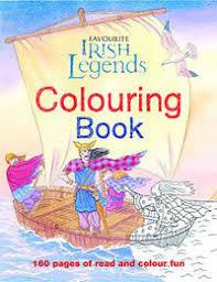 favourite irish legends colouring book 9780717149711 gill