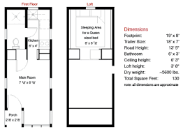 tiny house building plans 130 sf fencl tiny house and how to build your own