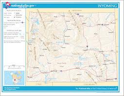 Wyoming Road Map Wyoming State Maps