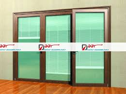 French Doors With Blinds In Glass 12 Exterior Sliding Glass Doors With Blinds Carehouse Info