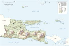 Map Java East Java 2007 Cartogis Services Maps Online Anu