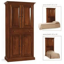 letto a legno massello mobile letto singolo in legno massello im2131