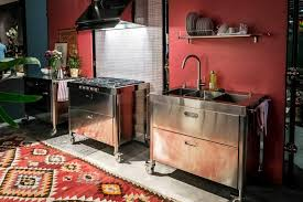 edelstahl küche edelstahl küchen möbel
