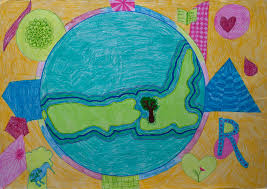 Children S Map Of The World by My Colourful Place In The World Children Map Their World