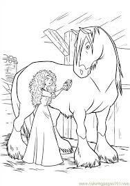 Brave 19 Coloring Page Free Brave Coloring Pages Disney Brave Coloring Pages