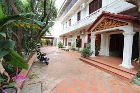 large french colonial villa for rent in tonle bassac phnom penh