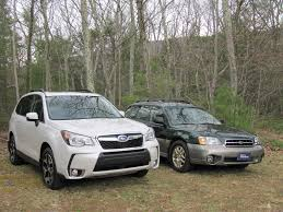 subaru forester old model 2014 subaru forester today u0027s compact crossover was mid size in 2000