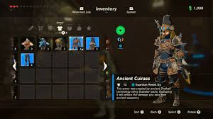 Clothing Advice Perfect Gear For by Legend Of Zelda Breath Of The Wild Best Armor Sets Locations