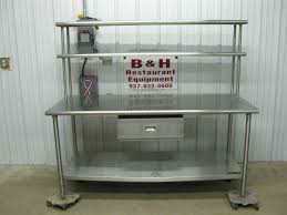 stainless steel prep table used used commercial kitchen with seating tables kitchen stainless steel