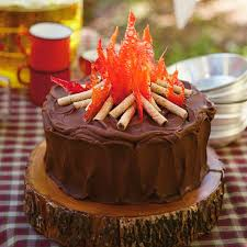camping birthday party ideas camp hill campfire