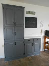 interior blue grey painted kitchen cabinets in leading benjamin benjamin moore