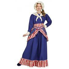 Colonial Halloween Costume Betsy Ross Costume Ebay