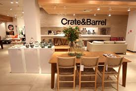 crate and barrel crate barrel opens first store in russia