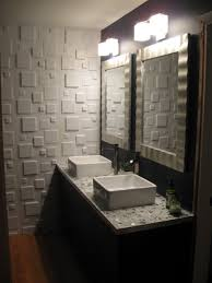 mirror tiles for bathroom walls accessories astounding modern small bathroom decoration using